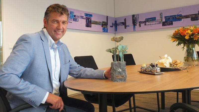 Johan Groenen, winnaar Ondernemerstrofee Veldhoven 2015