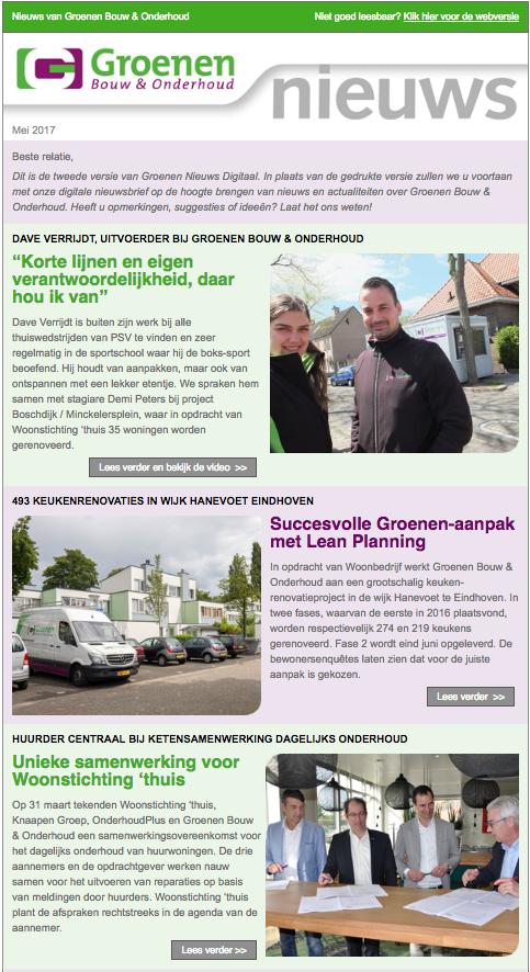 Groenen Nieuws mei 2017