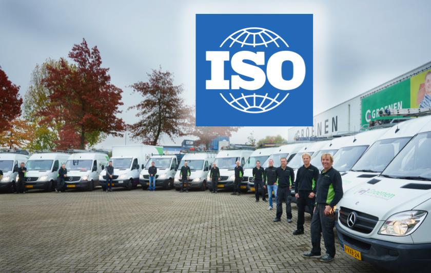 ISO certificering Groenen Bouw & Onderhoud