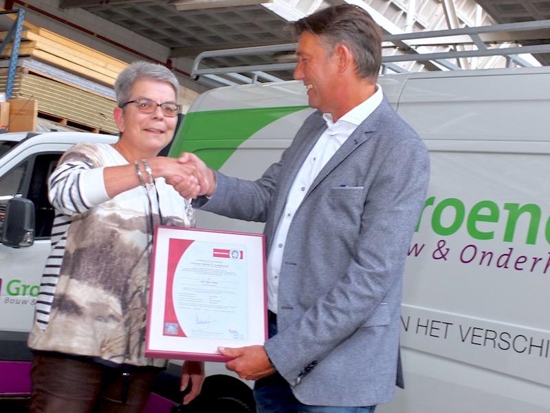 ISO Certificering Groenen Bouw & Onderhoud Veldhoven