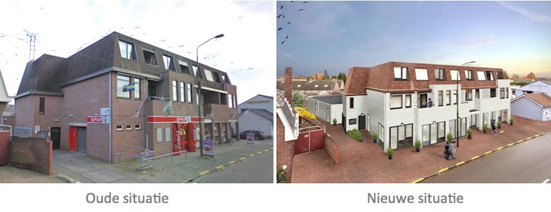 Transformatie winkelpand naar studio'd - Budel Nieuwstraat | Groenen Bouw & Onderhoud