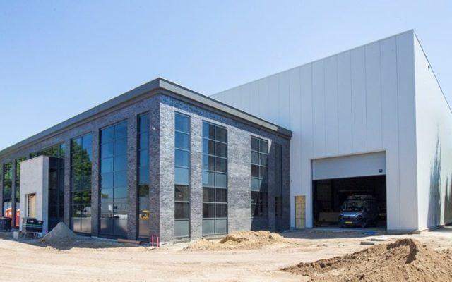 Nieuwe gebouw Van Eerd Groep - Heiberg Veldhoven