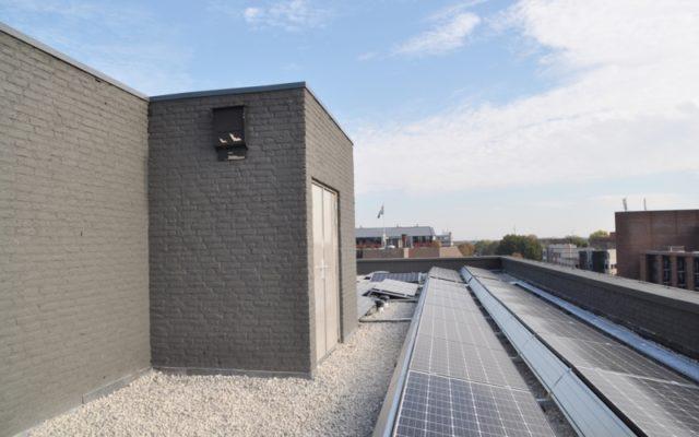 zonnepanelen dak Kasteel Traverse