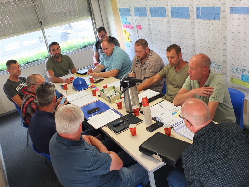 LEAN planning | Groenen Bouw & Onderhoud
